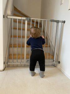 Treppenschutzgitt