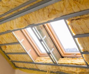 Dämmung des Dachs